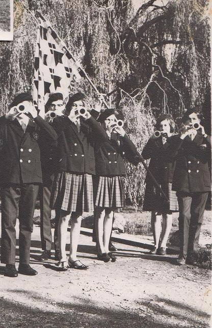Bagad Cadets de Bretagne 1964