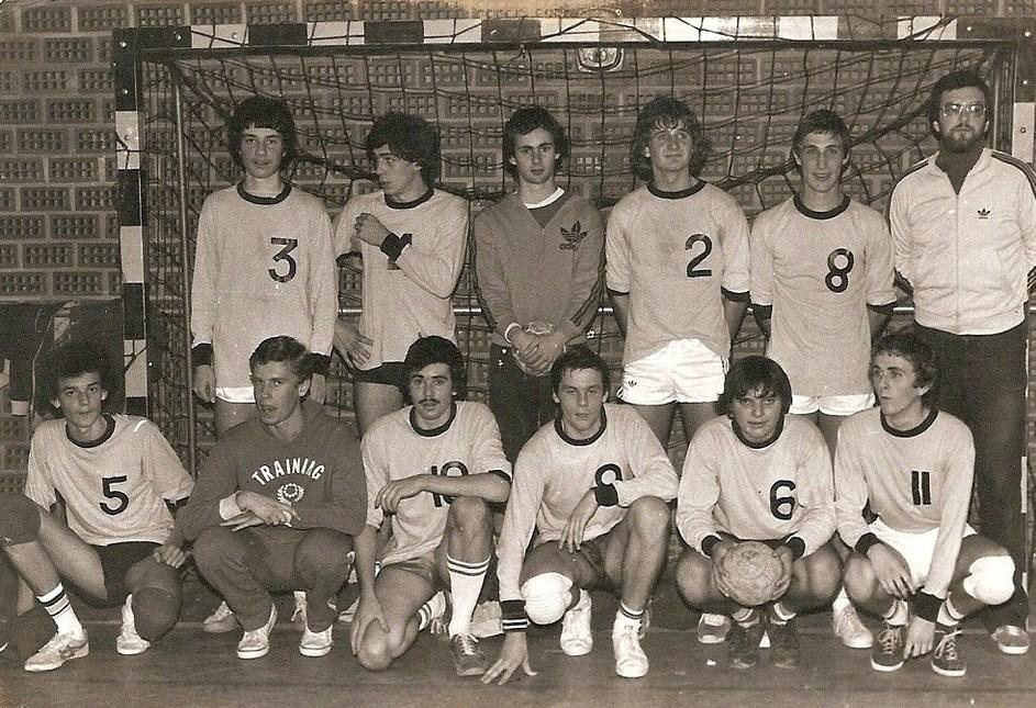 Equipe - 18 garçons Cadets de Bretagne Rennes saison 1979-1980