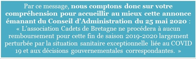 Message 2 information ensemble pendant le Covid-19
