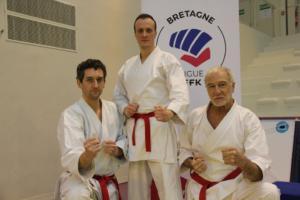 Podium Loudéac Karaté Cadets de Bretagne Rennes